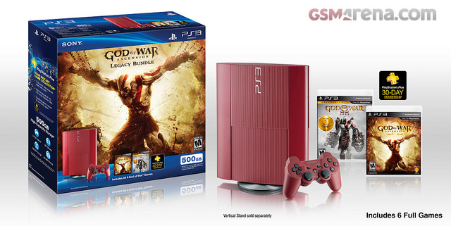 Sony announced God of War Ascension Legacy PS3 bundle