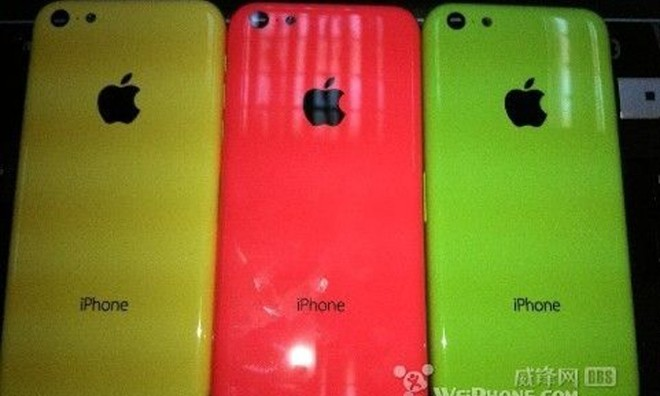 تصاویر جدید،آیفون ارزان قیمت را با آیفون 5 مقایسه می کنند