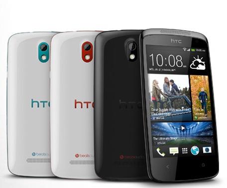 Desire 500 یک گوشی رده متوسط اما گران قیمت از HTC