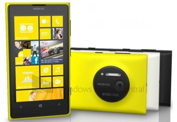 تمامی مشخصات Nokia Lumia 1020