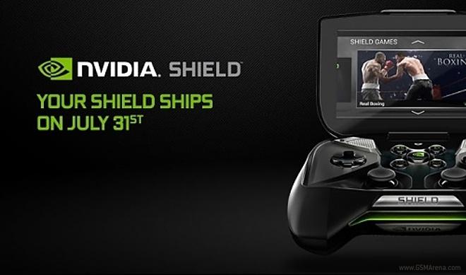 عرضه Nvidia Shield از 31 جولای