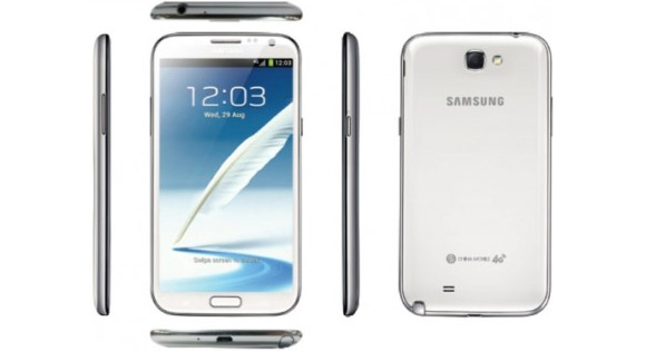 Samsung Galaxy Note II با پردازنده Snapdragon 600 رسما معرفی شد