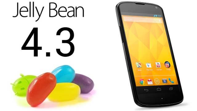 Android 4.3 رونمایی شد!