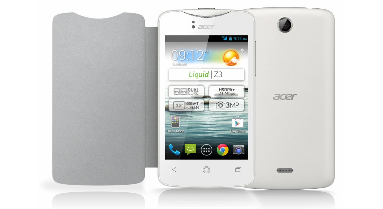 Acer Liquid Z3 تلفن هوشمند اندرویدی رده متوسط