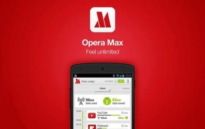 Opera max هزینه مصرف اینترنت در گوشی شما  را به حداقل میرساند!