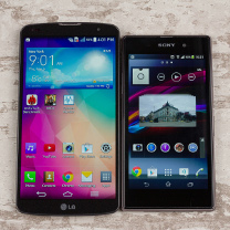 LG G Pro 2 در برابرSony Xperia Z1 (قسمت دوم)