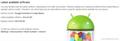 Android 4.3 tech fars