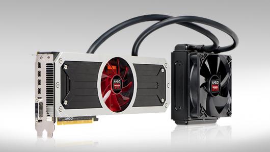 پرچم دار جدید AMD معرفی شد(کارت گرافیک Radeon R9 295X2 )