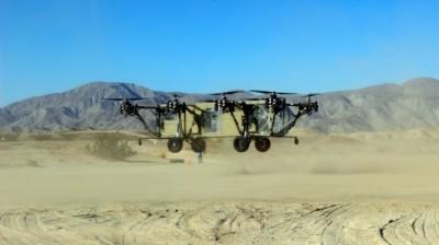 پرواز AT Black Knight Transformer برای نخستین بار