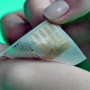 electronic patch