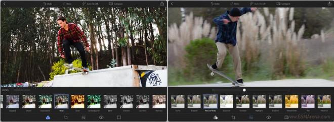 معرفی جدید نرم افزار photoshop express برای سیستم عامل ios