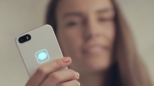 Lunecase محافظ بدنه آیفون با LED هشدار دهنده بدون نیاز به باتری