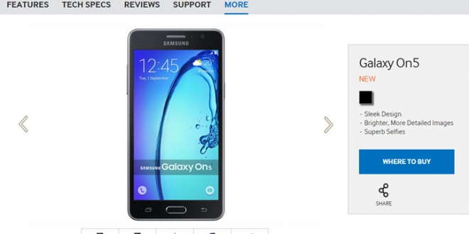 samsung-galaxy-on5-spotted