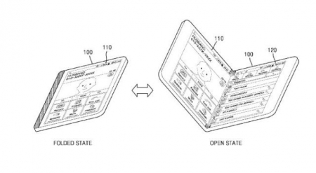 Samsung-Foldable-display-patent