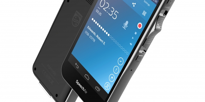 Philips SpeechAir smart voice recorder