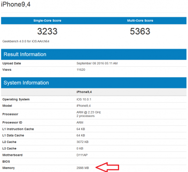 geekbench-shows-3gb-of-ram-on-the-iphone-7-plus
