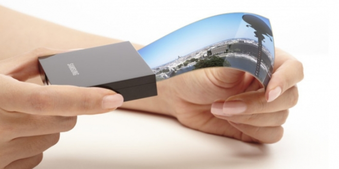 بر اساس یک پتنت سامسونگ قصد تولید صفحه نمایش های تاشو را دارد